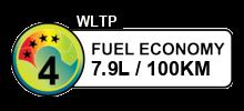 7.9 litres/100km