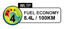4 fuel rating stars out of 6