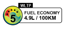 5 fuel rating stars out of 6
