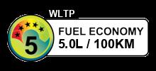 5 litres/100km