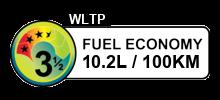 10.2 litres/100km