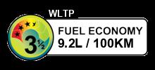 9.2 litres/100km