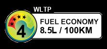 8.5 litres/100km