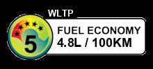 4.8 litres/100km