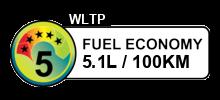 5.1 litres/100km